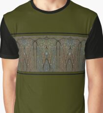 Ancient Border - Olive Multi Graphic T-Shirt