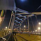 Moonlit Bridge by Mel Preston