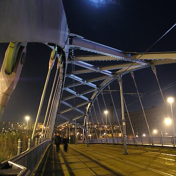 Moonlit Bridge by gurumel