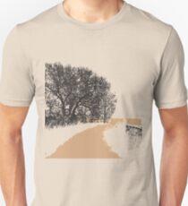 Country Road - Linoleum Cut Print T-Shirt