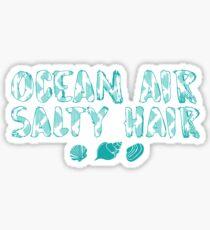 Ocean Air Salty Air  Sticker