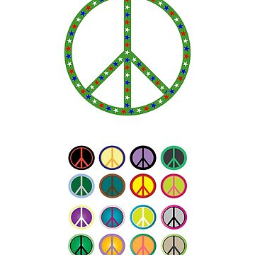 Peace sign by Nathansart