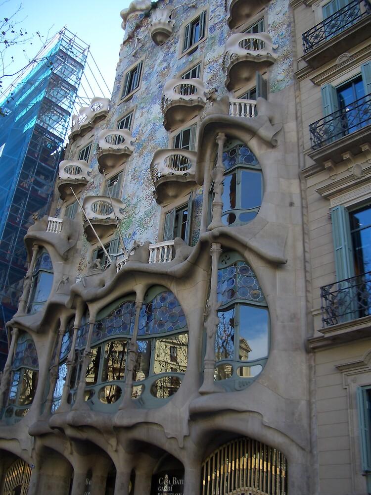 casa batllo by Tony  Caruso