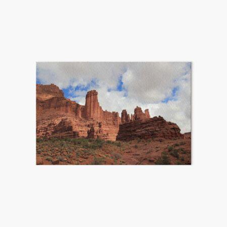 USA Utah Fisher Towers Canyon Galeriedruck