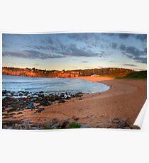 Amber - Sydney Beaches - Avalon Beach - The HDR Series - Sydney Australia Poster