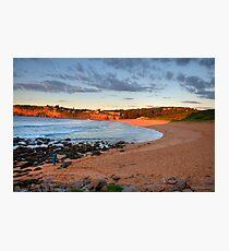Amber - Sydney Beaches - Avalon Beach - The HDR Series - Sydney Australia Photographic Print
