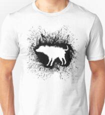 Banksy Wet Dog Unisex T-Shirt