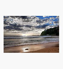 Sydney Beaches - Palm Beach, - The HDR Series - Sydney,Australia Photographic Print