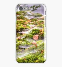 Inverness Morning Webs, Scotland. iPhone Case/Skin