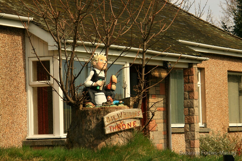 Oor Wullie  by Suzanne Forbes-Murray