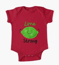 Lime Strong - Punny Garden One Piece - Short Sleeve