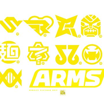 [ARMS] Character Icons by Rukunetsu