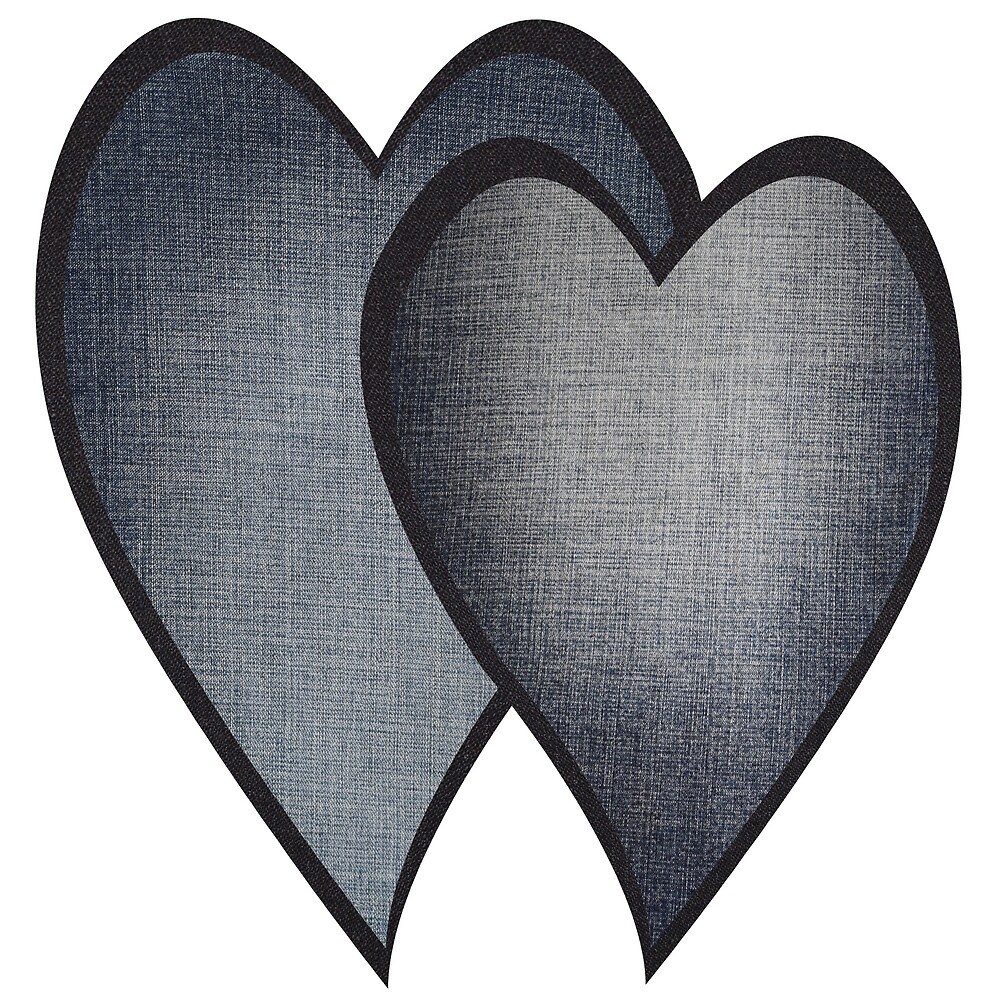 Two hearts -denim photocollage by denimaheart