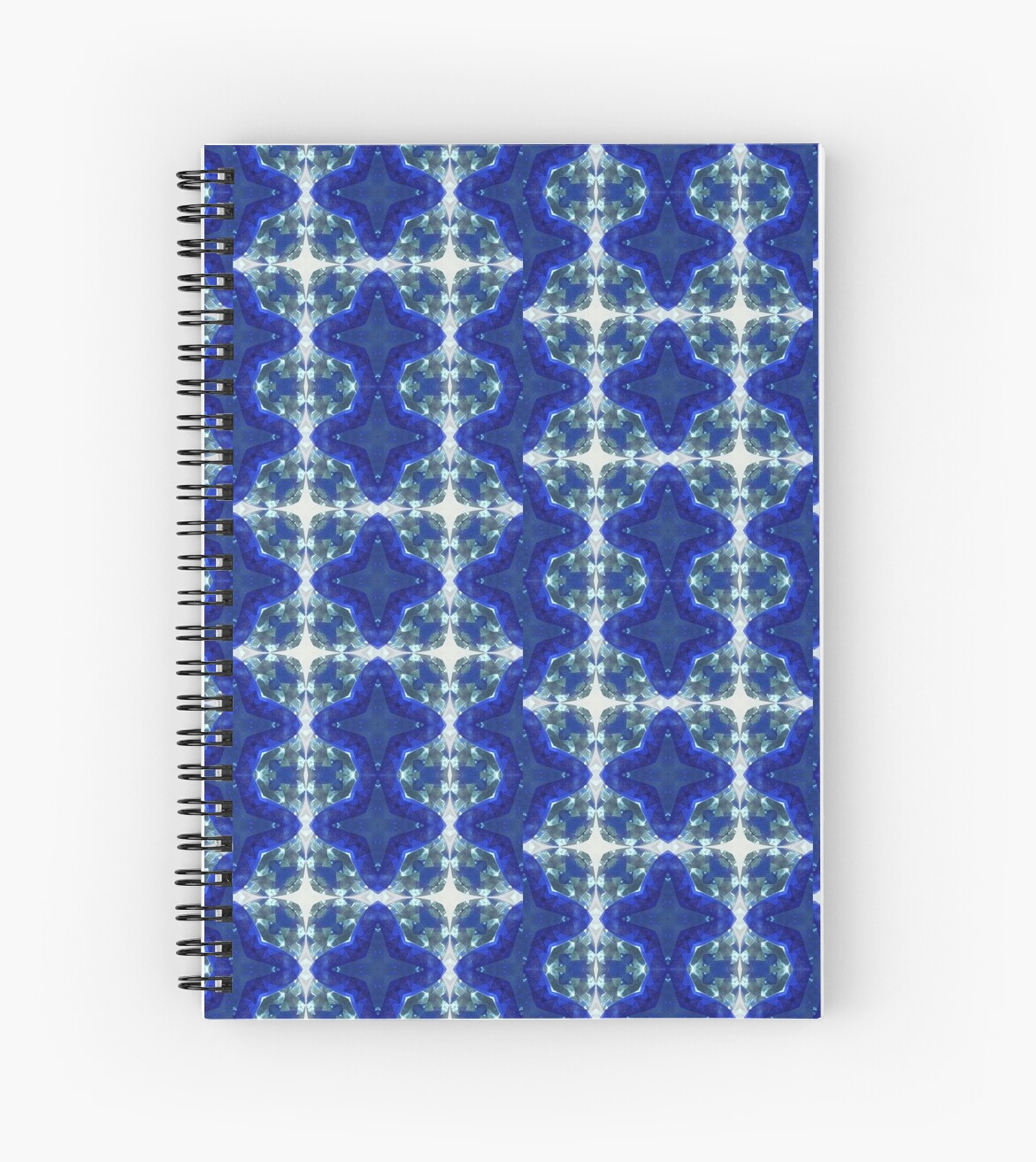 Blue and Crystalline  by Cheerie