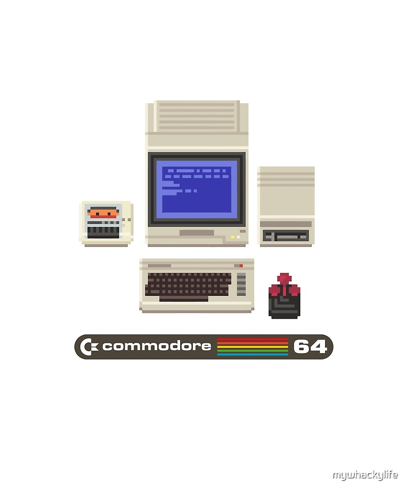 Commodore 64 - 1980s home computer by mywhackylife