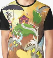 my little pony discord realm watercolor Graphic T-Shirt