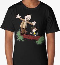 Breaking Bad Calvin And Hobbes Long T-Shirt