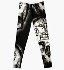 Voodoo Skull Leggings