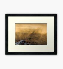 Condor In A Storm Framed Print