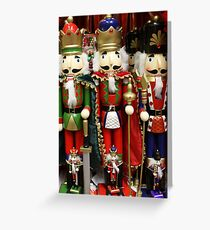 Nutcracker Soldiers Greeting Card