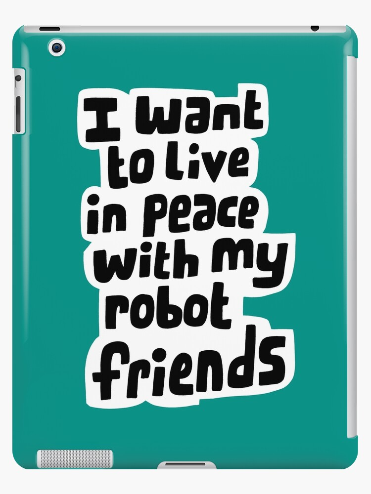 Robot friends by alanized