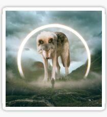 aegis | wolf Sticker