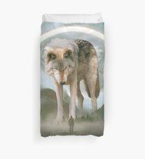 aegis | wolf Duvet Cover