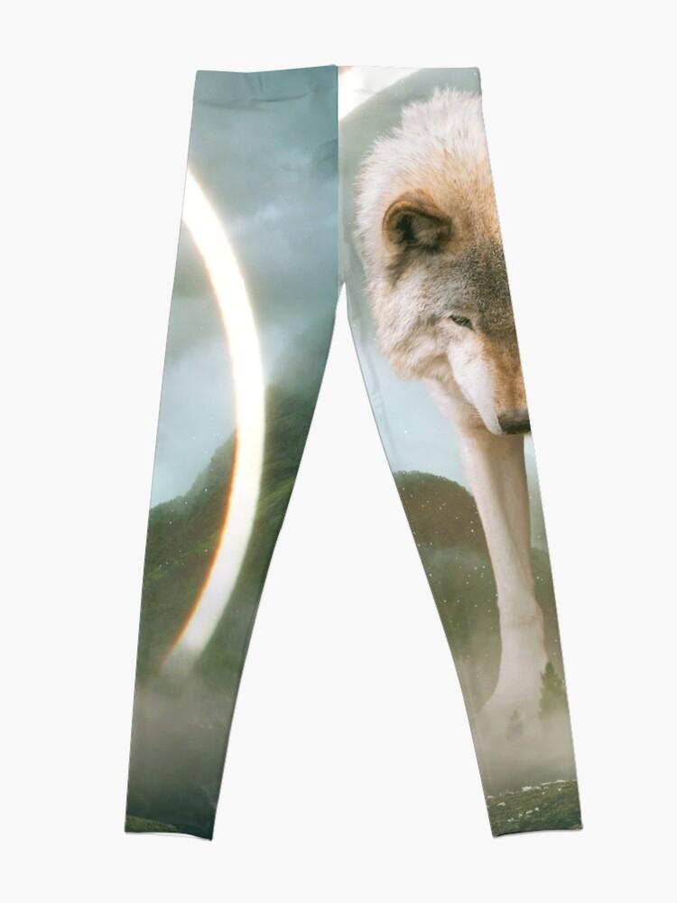 Alternate view of aegis | wolf Leggings