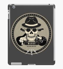 Blues: Easy to play, Hard to feel iPad Case/Skin