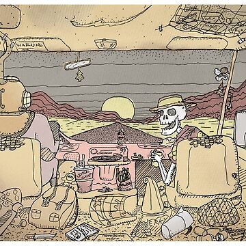 Desert Trip by WurtIllustrates