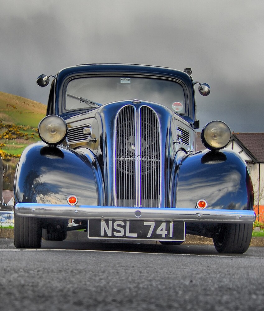4 wheeled oldie hdr by zacco