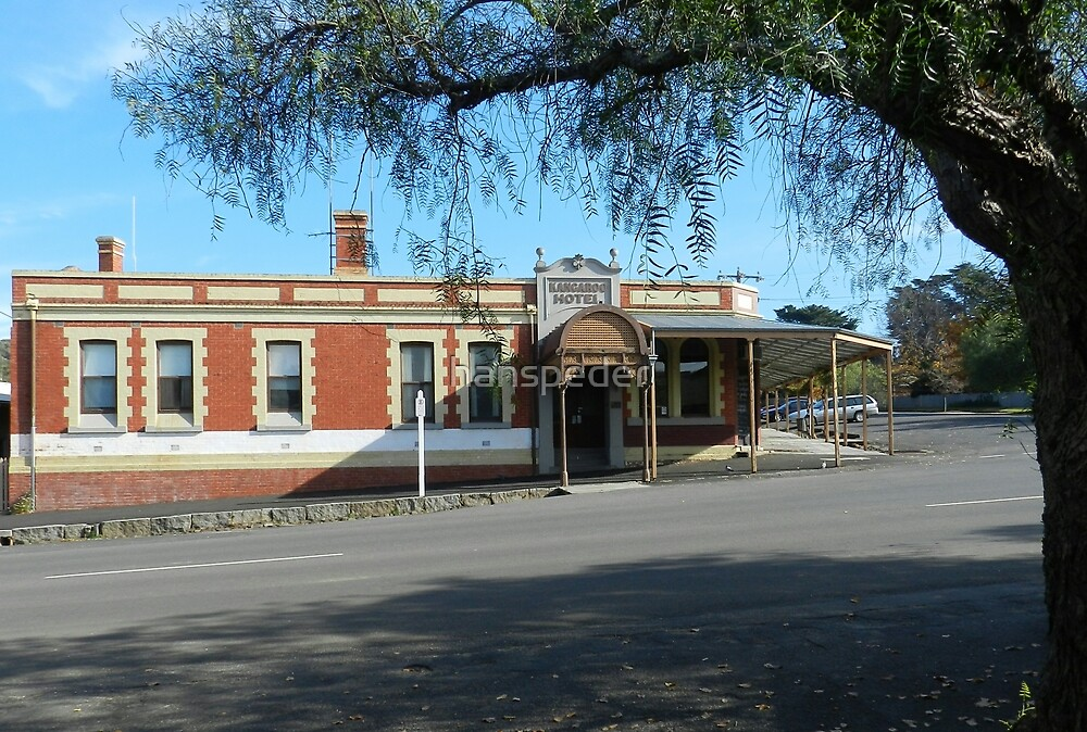 Kangaroo Hotel, Maldon. Victoria. Australia by hans peðer alfreð olsen