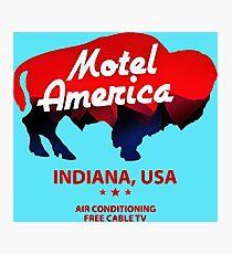 motel bull Photographic Print