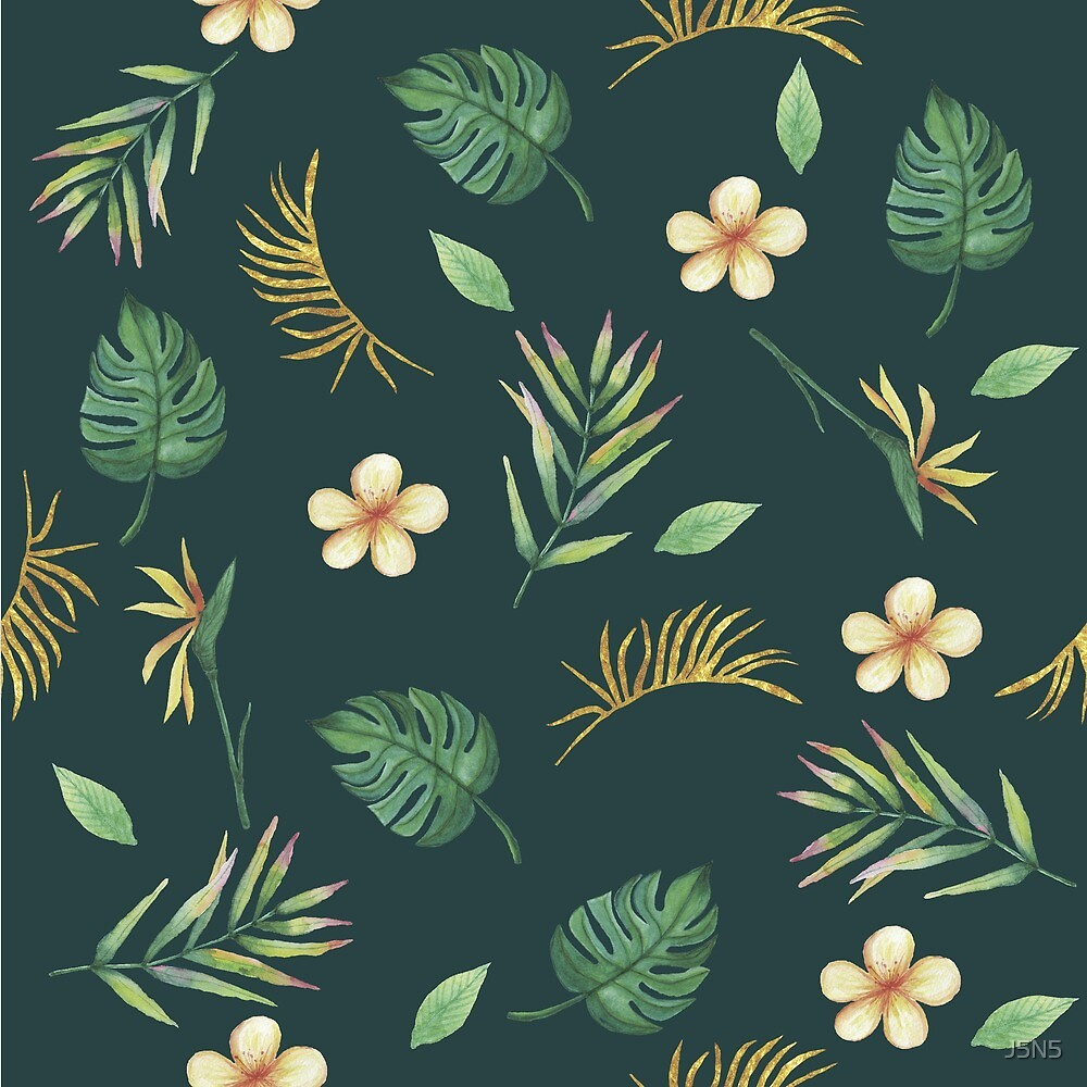 Tropical print by J5N5