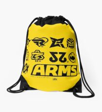 [ARMS] Character Icons T-Shirt Drawstring Bag