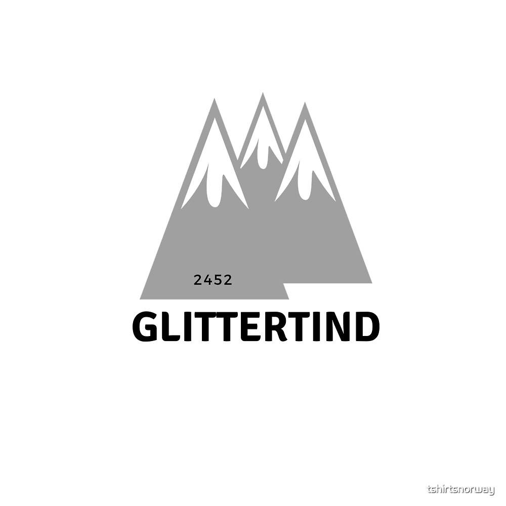Glittertind 2452 by tshirtsnorway
