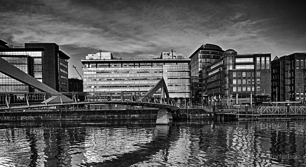 River Clyde Glasgow by Forfarlass