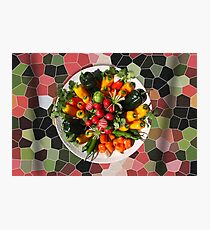 Fresh Peppers Photographic Print