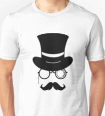 Hipster hat and Unisex T-Shirt