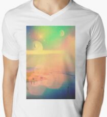 Brighter Summer Breeze Mens V-Neck T-Shirt