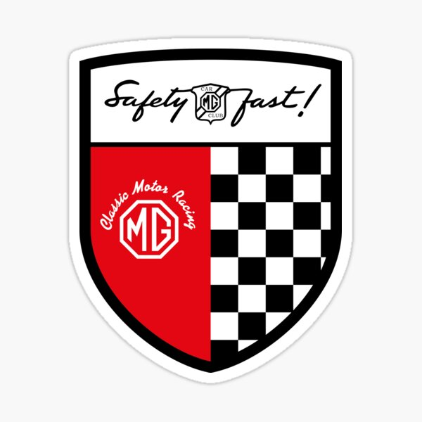 MGCC Classic Racing Shield Sticker