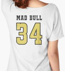 Mad Bull Jersey Women's Relaxed Fit T-Shirt