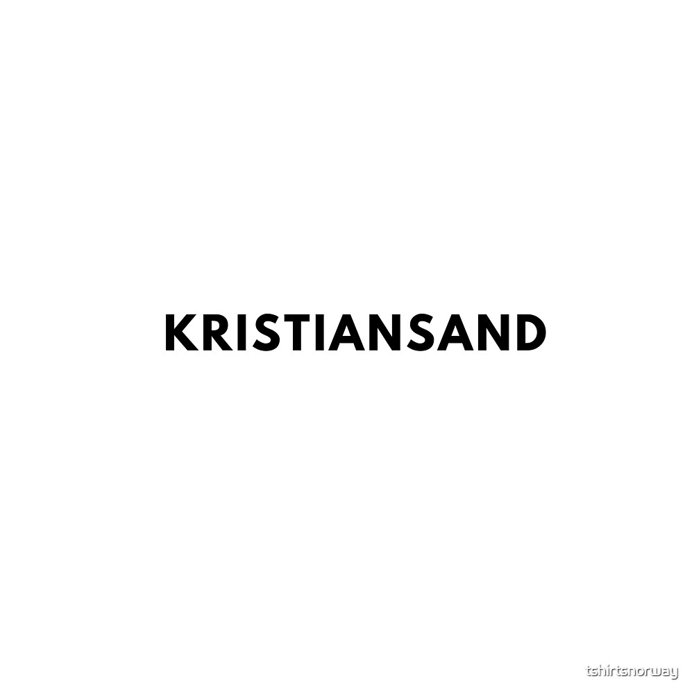 Kristiansand by tshirtsnorway