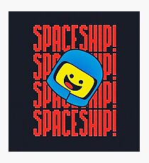 Spaceship Spaceship Photographic Print