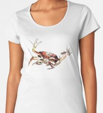 Dungeness Crab Snared Women's Premium T-Shirt