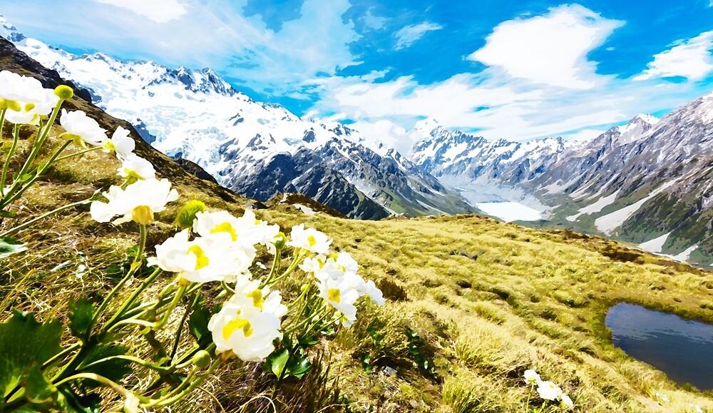 New Zealand Countryside by warrengi