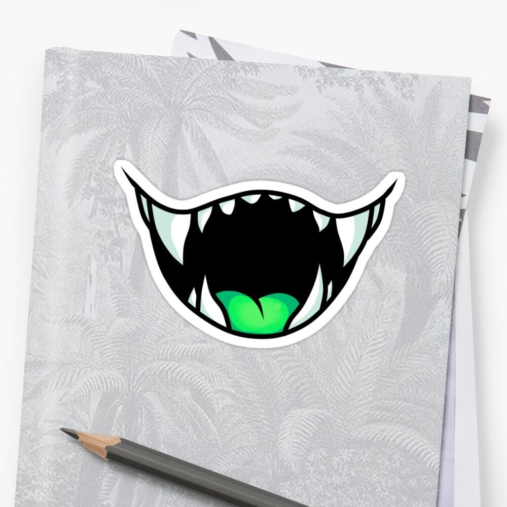 Sharp Teeth 1 by CrystalChimera