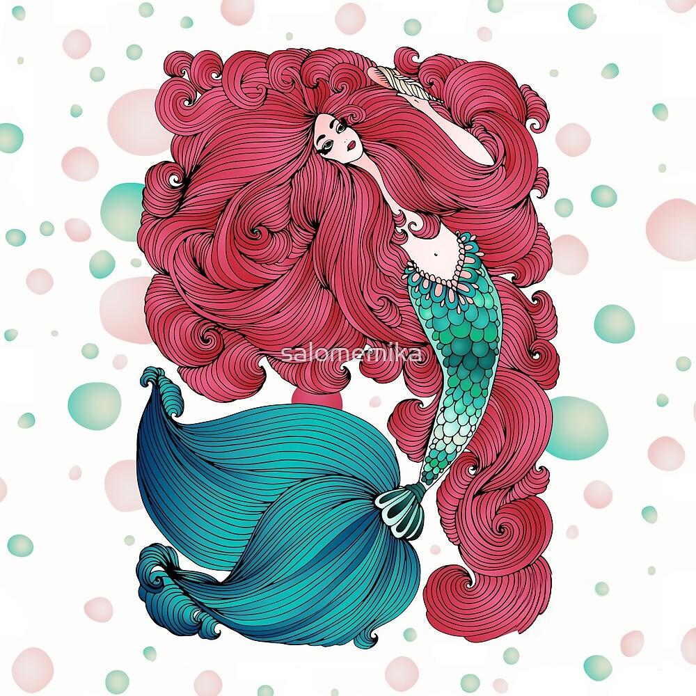 Mermaid by salomemika