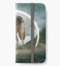 aegis | Wolf iPhone Flip-Case/Hülle/Skin