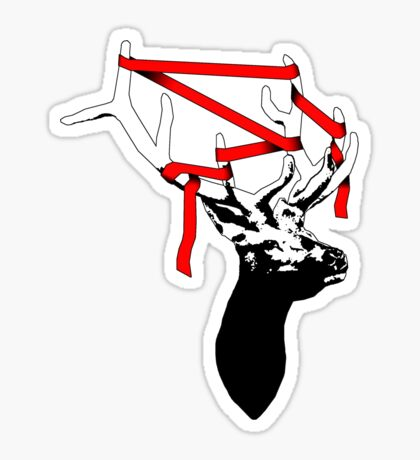 Stag-nant (Red-tape) Sticker